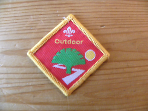 Outdoor UK Scouting Beaver Scout Discontinued Challenge Award