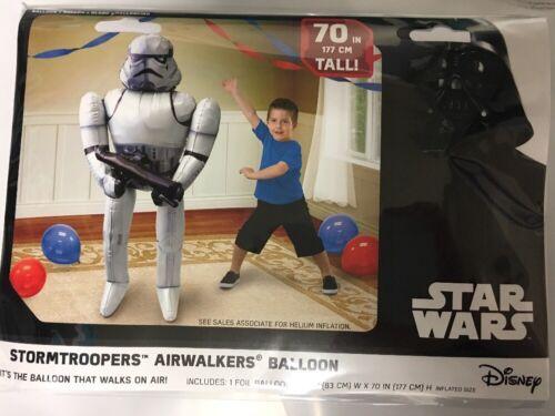 STORMTROOPER STAR WARS Airwalker Balloon Anagram GIANT 70in TALL