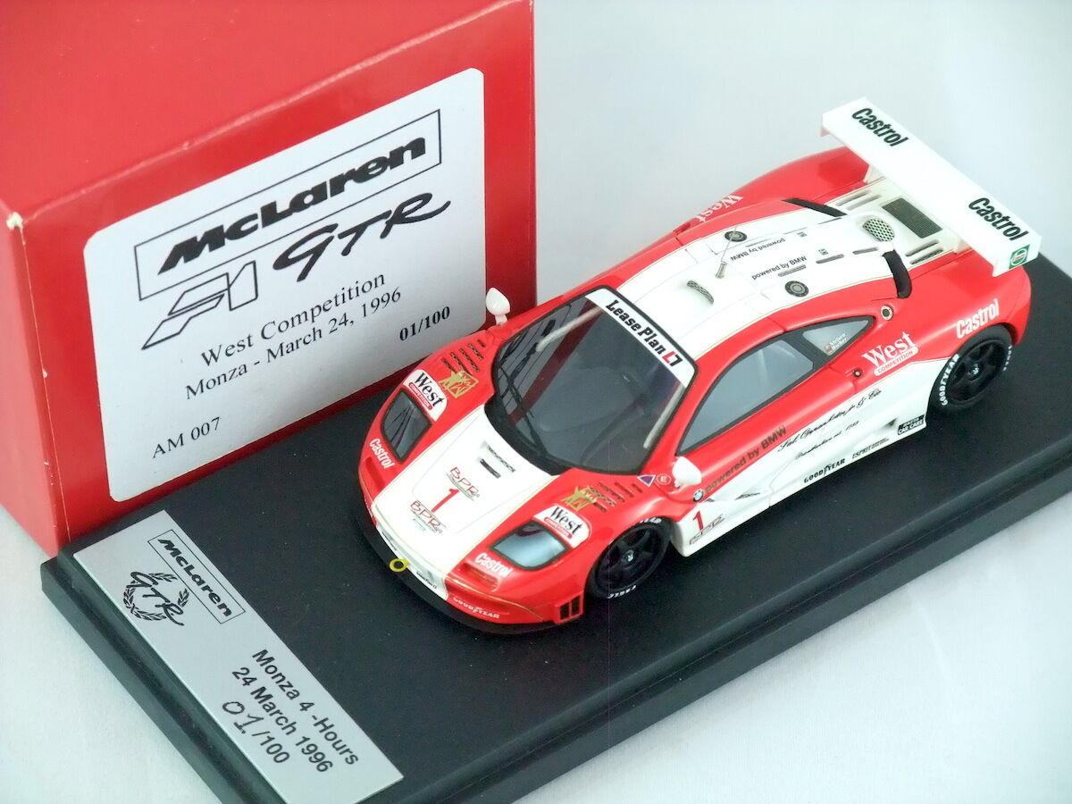 1 43 autobarn AB McLaren F1 GTR West Competition MONZA 1996 AM007  1