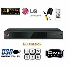LG DP132 DVD player with flexible USB & DivX playback,Black-Brand New -MULTIZONE