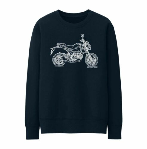 JL Illustration For A Honda Grom Motorbike Fan Jumper