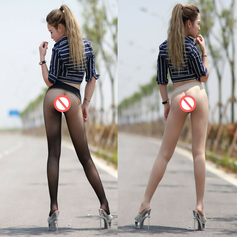 Damen Velvet Nahtlose Strumpfhose Durchsichtig Seamless Tights Nylons Pantyhose