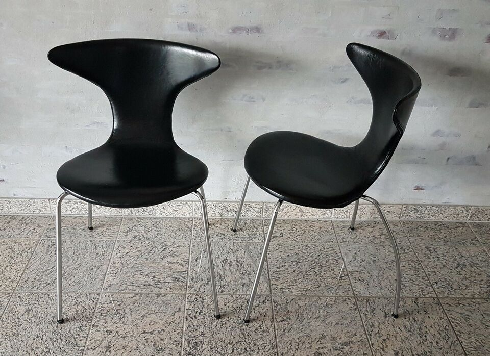 Spisebordsstol, læder