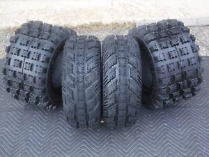 Yamaha Raptor 660 700 2001-2017 21x7-10 /& 20x10-9 ATV TIRE SET All 4 Tires