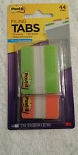 Post It Write On Durable File Index Tabs 44 Pack For The Price Of 24 6862go