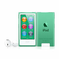 Apple Ipod Nano 7th Gen (16gb) Green In Box Sealed