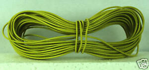 2K13 Model Railway Layout Wire 10m 1.4A Yellow 1st Class Post