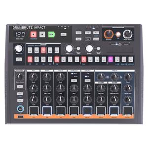 Arturia-DrumBrute-IMPACT-Analog-Drum-Machine-w-USB-MIDI-Performance-Pads