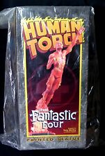 The Human Torch Statue Bowen Designs Fantastic Four New from 2003 Marvel  .