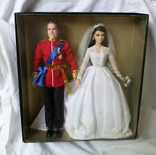 William and Catherine Royal Wedding Giftset (Barbie)