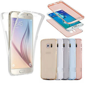 Shockproof-TPU-360-Protective-Clear-Rubber-Soft-Case-Cover-For-Samsung-Galaxy
