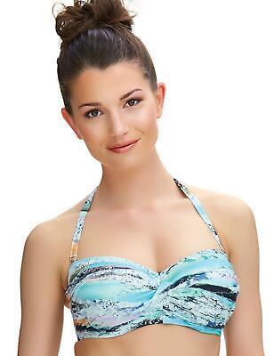 Fantasie Fiji Twist Bandeau Strapless Bikini Top 6541 Womens Underwired Swimwear