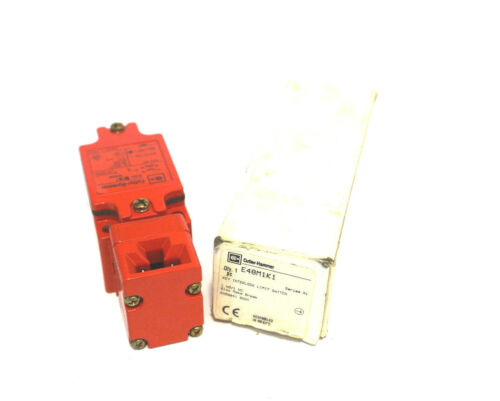 NEW CUTLER HAMMER E48M1K1 LIMIT SWITCH E48M1K1