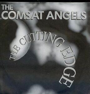 7inch-COMSAT-ANGELS-the-cutting-edge-GERMAN-1986-EX