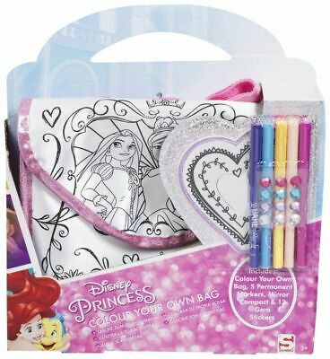 "Attento Disney Princess Colore Il Tuo Totebag (marcatori, Gemma Adesivi, Specchio) Craft Set-r) Craft Set"" Data-mtsrclang=""it-it"" Href=""#"" Onclick=""return False;"">mostra Il Titolo Originale"