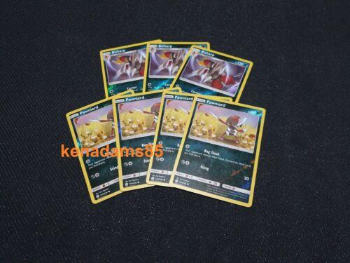 REVERSE HO 3 x Bisharp 135 Cards Pokemon SM12 Cosmic Eclipse 4 x Pawniard 134
