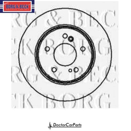 Disques de frein paire arrière 2x pour mercedes CL203 C180 C200 01-02 2.0 M111 coupé bb