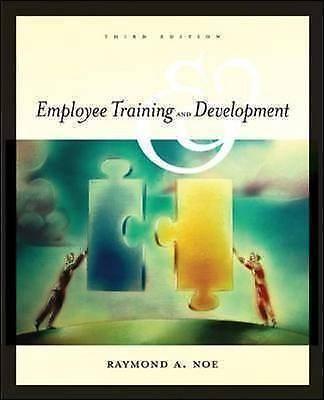 Employee training and development by Raymond Andrew Noe (Paperback / softback)