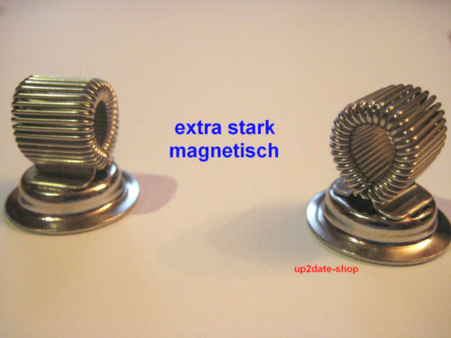2 Stifthalter magnetischer Stiftehalter Werkzeughalter Magnethalter Magnet