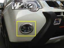 For Nissan 2012 X-Trail ABS Chrome Front Fog Light Lamp Cover Trim