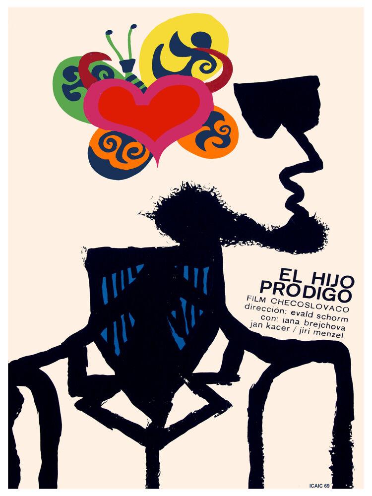 El hijo prodigo Vintage Movie POSTER.Graphic Design.Wall Art Decoration.3613