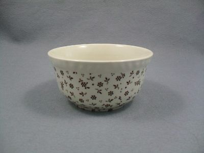 Diplomatic Adams Sprig Sugar Bowl Pottery, Porcelain & Glass Brown Pottery