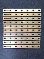 10 - Solid Copper Bus Bar, Cadmium Plated Terminal Conductor Strip Busway Ground