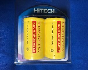 20-2x10-of-D-size-Hitech-Rechargeable-Consumer-battery-4000mAh-For-RC-Electronic