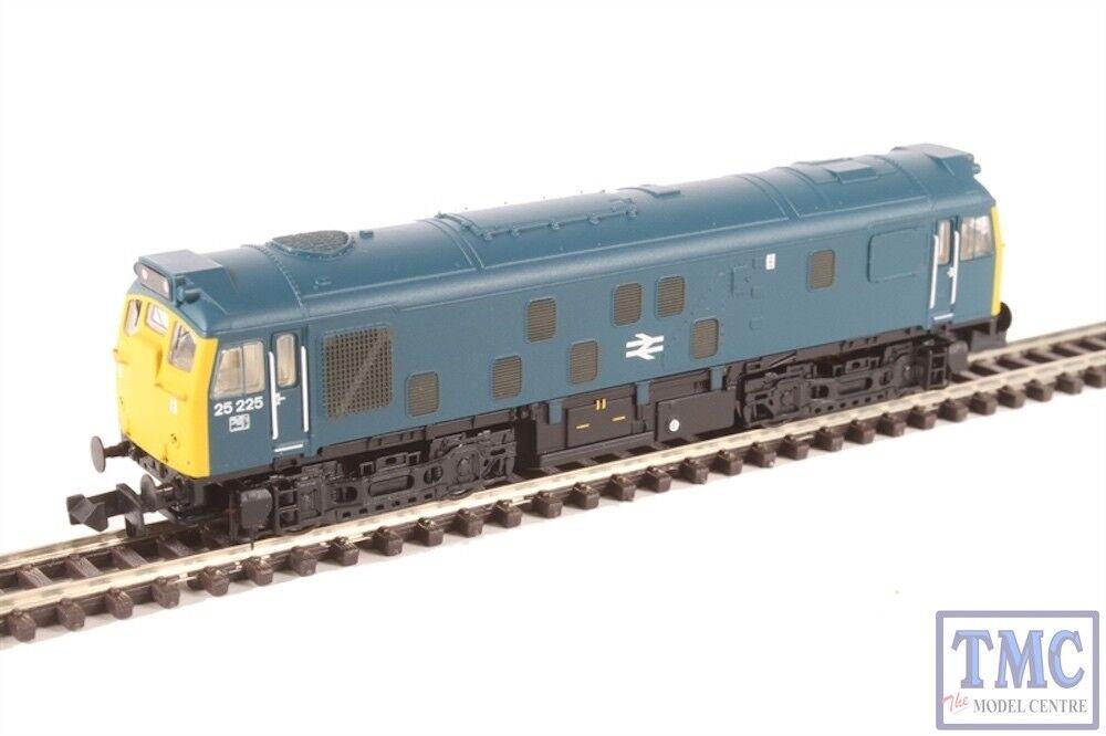371-087A Graham Farish N Gauge Class 25 2 25225 BR azul