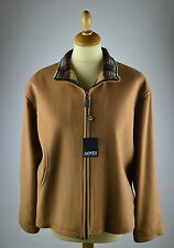 RRP £140.Ladies cashmere wool short camel jacket. Large.Peter James.Tartan Plaid