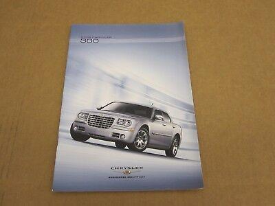 2007 Chrysler 300 36-page Original Car Sales Brochure Book Hemi SRT8 300C