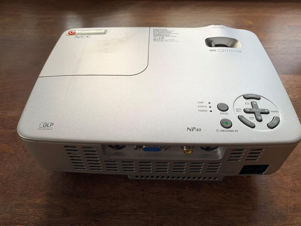 Projektor, NEC, NP 40