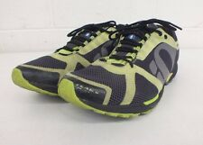 Pearl Izumi Peak II Black and Green Mesh Running Shoes US Men's 14 EU 49.5 GREAT
