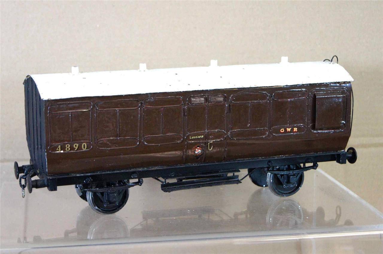 G G1 Gauge 1 Kit Costruito GW Gwr Ellittica borsaaglio autorozza 4890 circa 1920 Ei