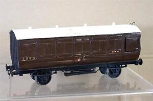 G G1 Échelle 1 Kit Construit Gw Gwr Elliptique Bagages Wagon 4890 Environ 1920