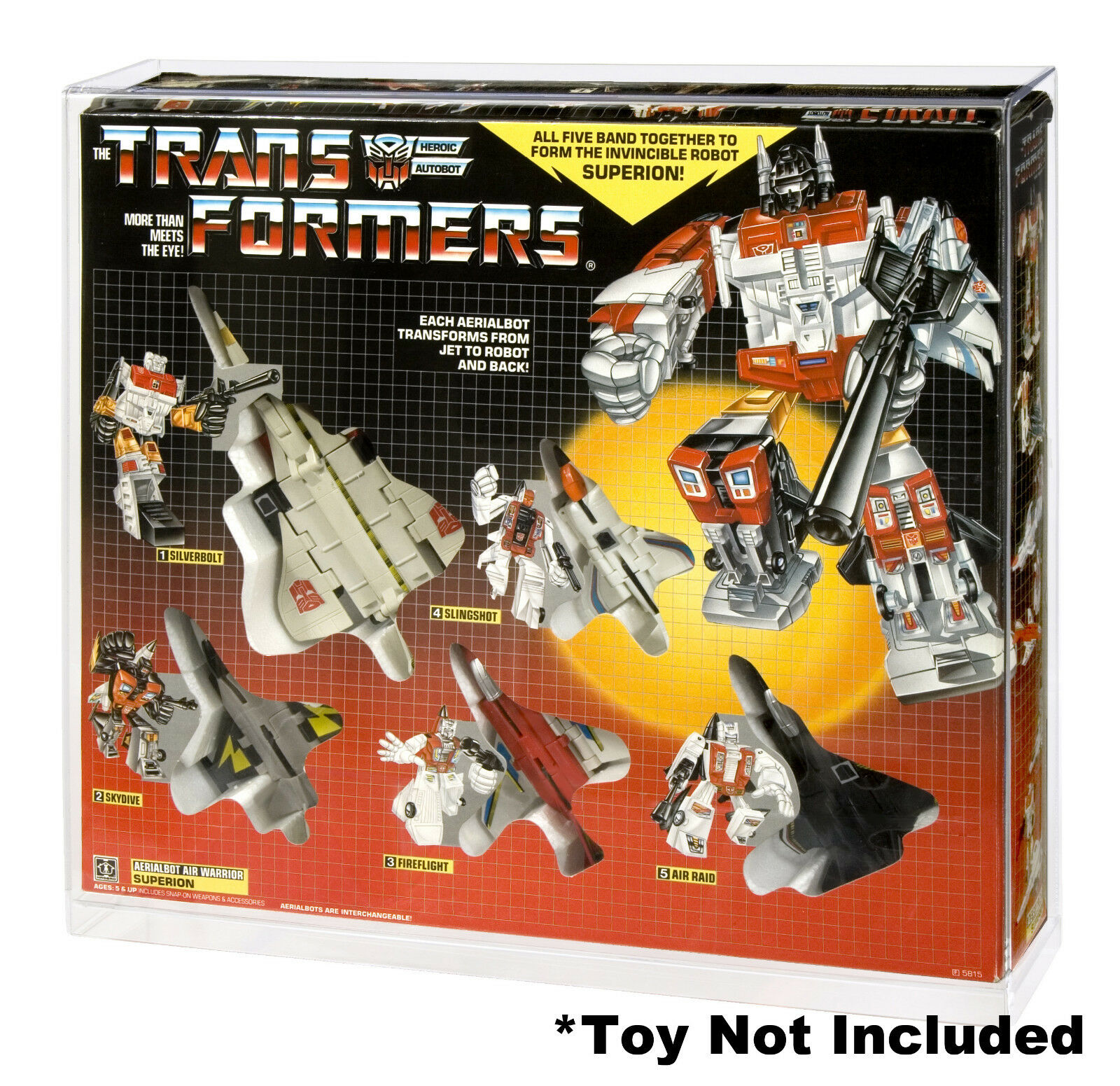 Transformers Superion Gift Set Acrylic Display Case