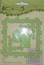 Lea'bilities Design Die Cutter - Flower Frame, craft, card making, 0362