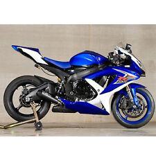 Injection Plastic Blue Bike Fairing Bodywork For Suzuki GSXR600 750 K8 K9 08 09