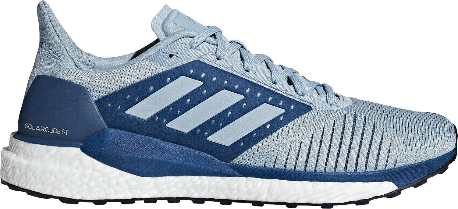 Adidas Solar Glide St Boost Para Hombre Zapatillas Para Correr-Azul