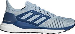 Détails sur Adidas Solar Glide ST Boost pour Homme Chaussures De Course Bleu afficher le titre d'origine