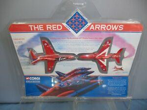 Corgi Modèle No.csf Flèches Rouges 2 Pièces   Corgi Model No.csf Red Arrows 2 Piece