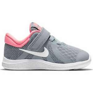 e1052f579b Nike Revolution 4 Tdv Grey Girl's Shoes Sneakers Baby Girl 943308 ...