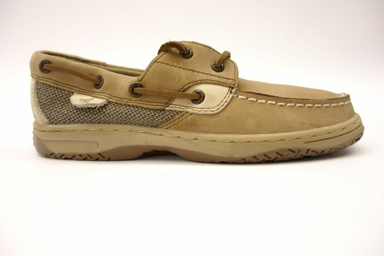 NEW -  SPERRY TOP SIDER Women's 'blueEFISH 2 EYE' Tan CASUAL LOAFER  SHOES - 9