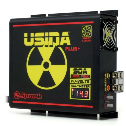 Spark USINA 90A Car Power Supply /& Charger Adjustable Control Voltmeter 1550W