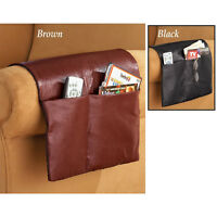 Armchair Pocket Cover Furniture Storage Saver Sofa Chairs Arms Leather Protector
