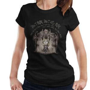 Doctor-Who-Weeping-Angel-Tim-Burton-Dont-Blink-Women-039-s-T-Shirt