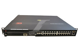 Details about Brocade NI-CES2024C-L3PREMAC Rack Mount Router w  NI-CES-2024-2X10G Module