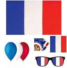 supporter France (lunette, Bandana,tatouage, drapeau 90 x 150, Ballon)euro 2016