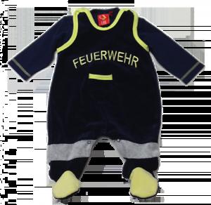Babystrampler Feuerwehr Strampler Set Gr.62