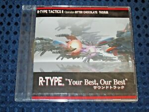 R-TYPE-Tactics-II-Operation-Bitter-Chocolate-Bonus-Soundtrack-Music-CD-JAPAN-F-S